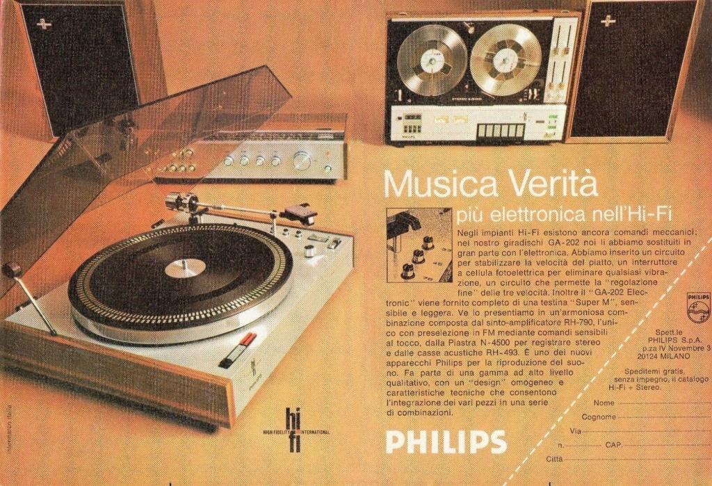Pubblicità Philps 1971 11aa10