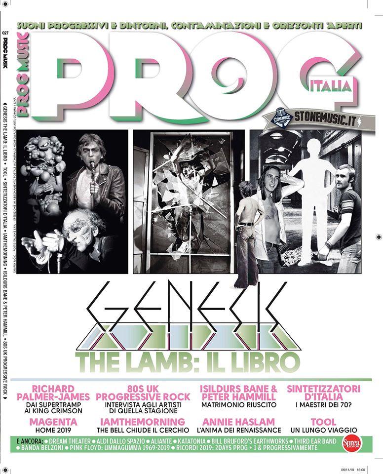 Esce in edicola: PROG ITALIA Magazine. Progit10