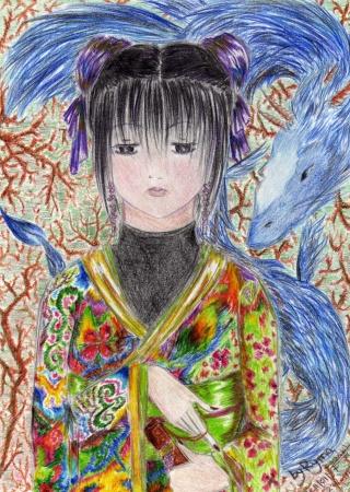 La fille au kimono Ryma_612