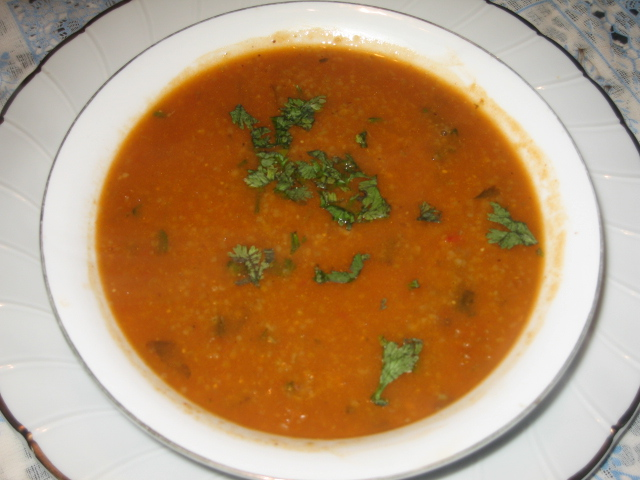 Chorba frik - a traditional algerian soup 11010