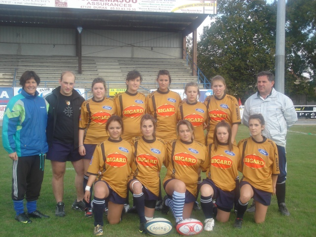 Equipe féminine du SUA Dsc01322