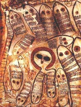 Représentations préhistoriques supposés d'aliens et d'OVNI Ufo11_13