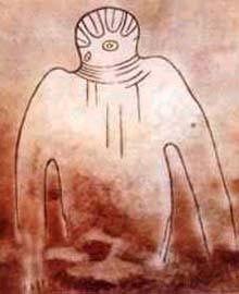 Représentations préhistoriques supposés d'aliens et d'OVNI Ufo12_10