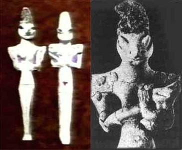 Représentations préhistoriques supposés d'aliens et d'OVNI Ufo13_11