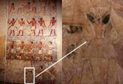 Représentations préhistoriques supposés d'aliens et d'OVNI Ufo1710