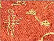 Représentations préhistoriques supposés d'aliens et d'OVNI Ufo310