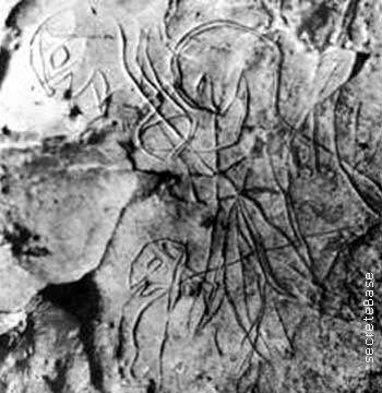 Représentations préhistoriques supposés d'aliens et d'OVNI Ufo410