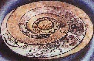 Représentations préhistoriques supposés d'aliens et d'OVNI Ufo6_110