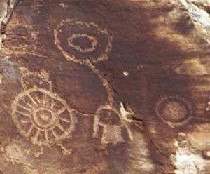 Représentations préhistoriques supposés d'aliens et d'OVNI Ufogeo19