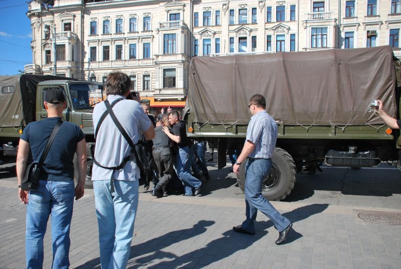 """Moscou - Manifestation du 31 mai - """"Limonov interpellé"""" - Mensonges de la presse - Photos Dsc_1313"""