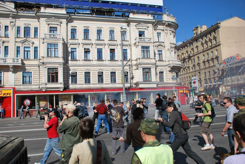 """Moscou - Manifestation du 31 mai - """"Limonov interpellé"""" - Mensonges de la presse - Photos Dsc_1321"""