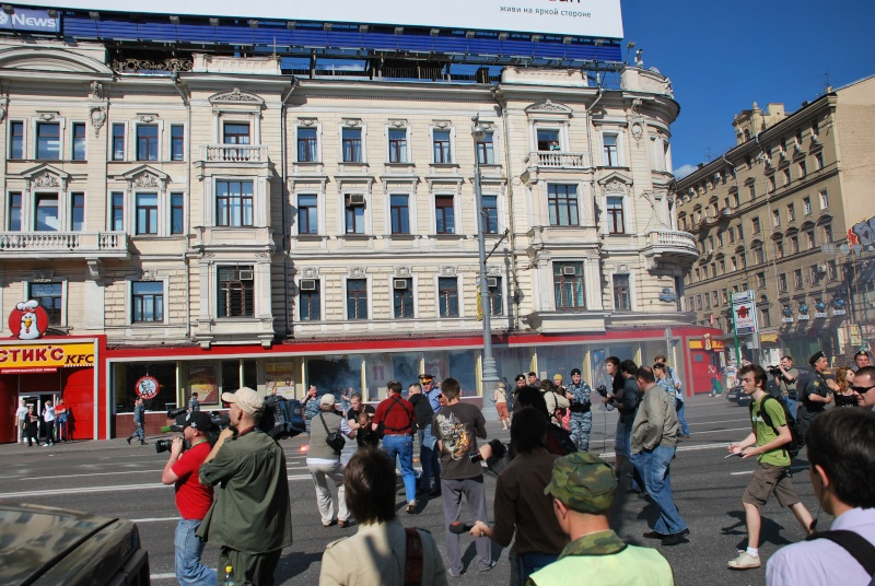 """Moscou - Manifestation du 31 mai - """"Limonov interpellé"""" - Mensonges de la presse - Photos Dsc_1322"""