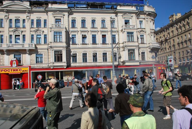 """Moscou - Manifestation du 31 mai - """"Limonov interpellé"""" - Mensonges de la presse - Photos Dsc_1323"""