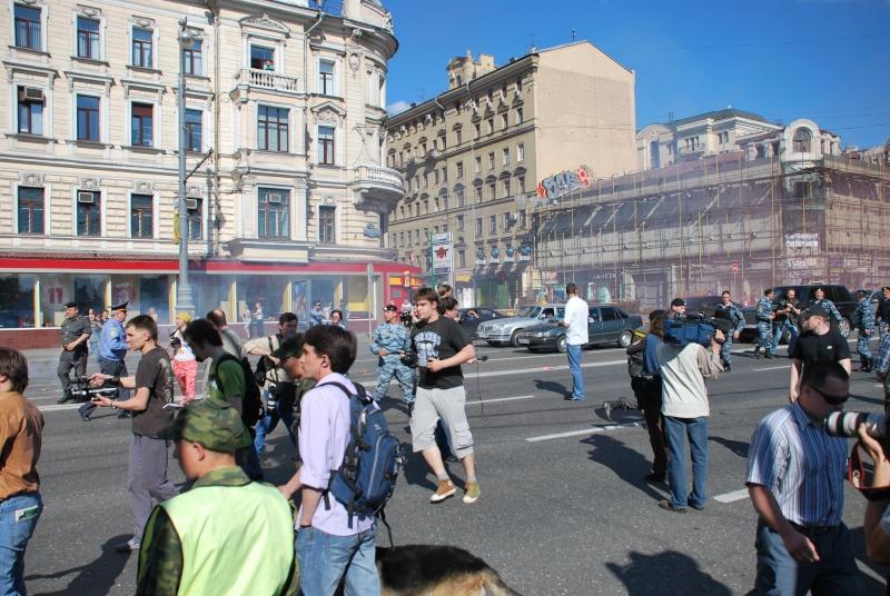 """Moscou - Manifestation du 31 mai - """"Limonov interpellé"""" - Mensonges de la presse - Photos Dsc_1324"""