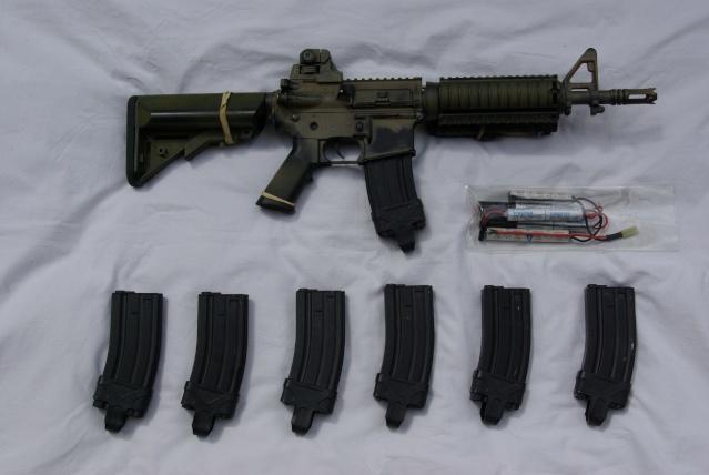 M4 Cqbr, Desert Boots,mbss Backpack, Pc Mbss Pantac, Dcu Mod Imgp4311