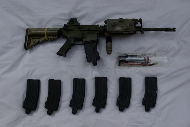 [PHOTOS] M4 CQBR, M4A1, PC MBSS, DCU moddé, TASC,Chargeurbat Imgp4312