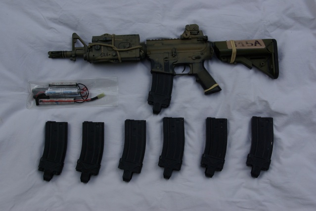 M4 Cqbr, Desert Boots,mbss Backpack, Pc Mbss Pantac, Dcu Mod Imgp4313