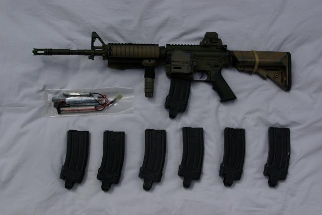 [PHOTOS] M4 CQBR, M4A1, PC MBSS, DCU moddé, TASC,Chargeurbat Imgp4314