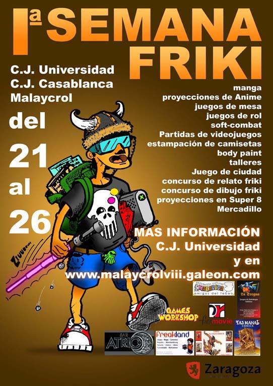 Semana friki en la casa de juventud Universidad Cartel11