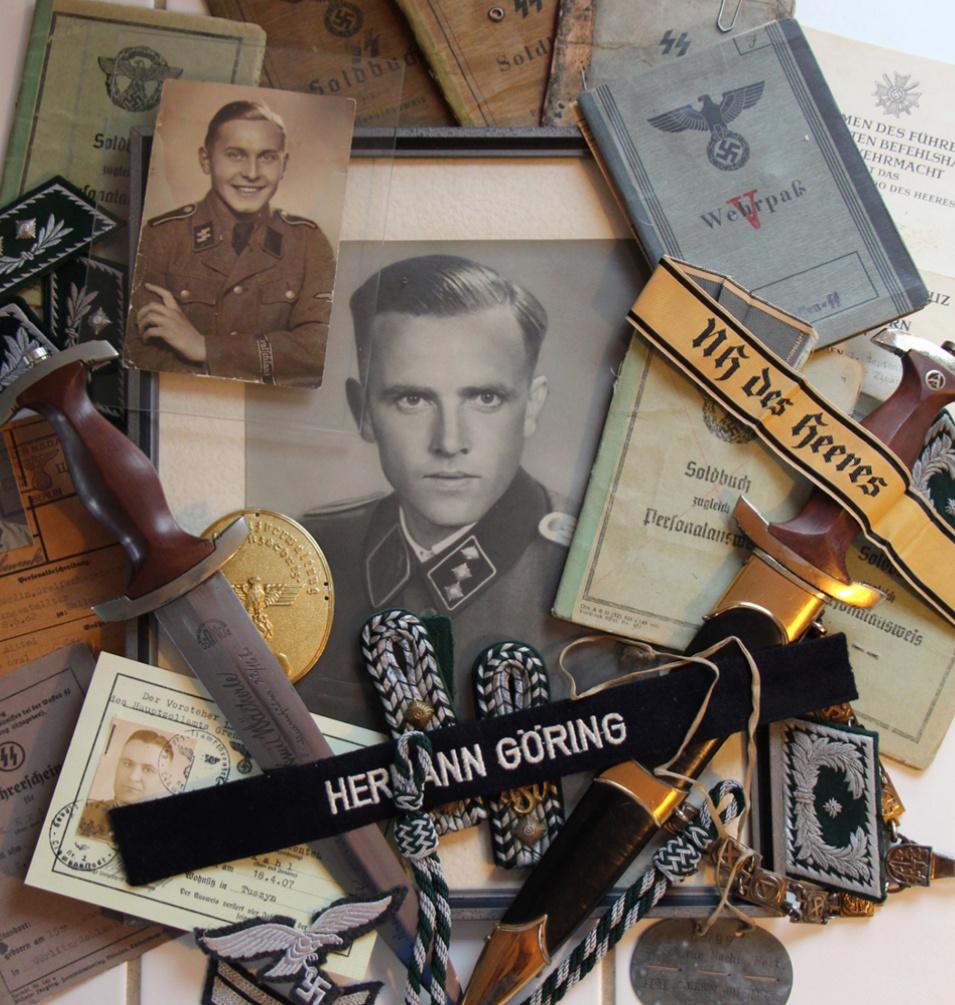 Documents, insignes et uniformologie IIIème Reich Voeux_10