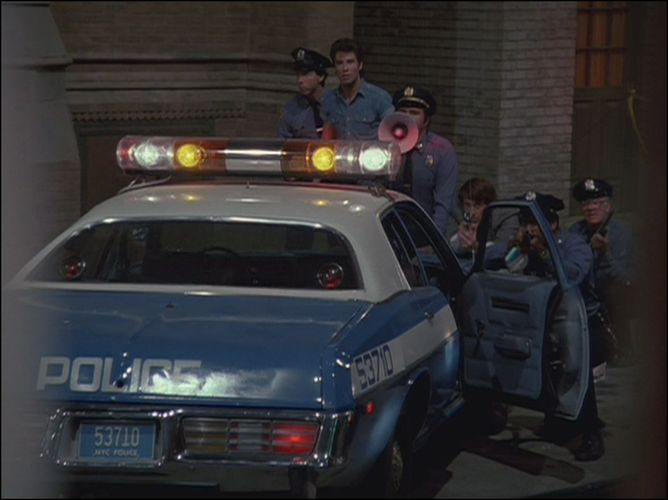 NYPD Ghostbusters, gyrophares Captur10