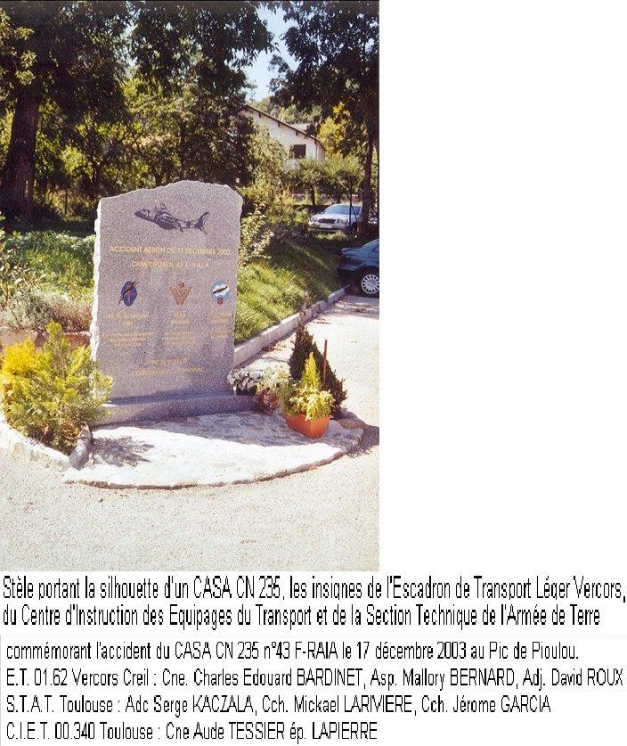 Hommage et souvenir CASA CN 235 N° 43 Casa10