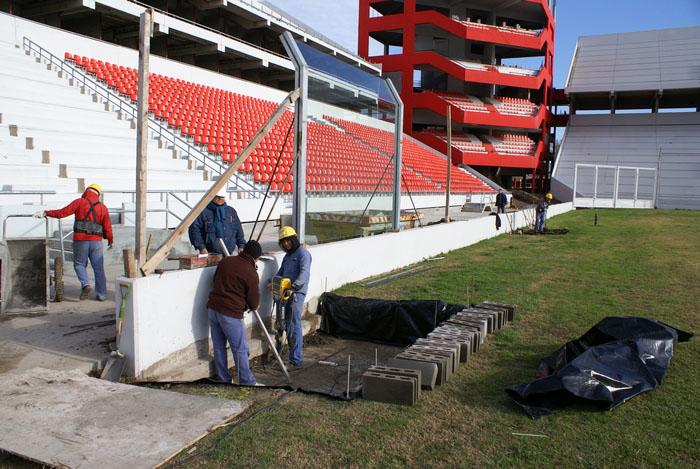 Estadio Libertadores de América, Argentina Obras-11