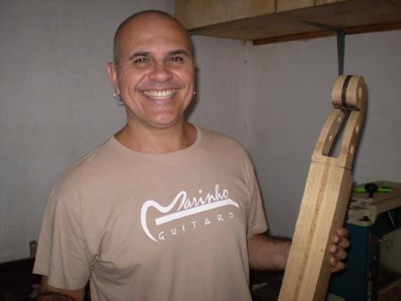 Visita ao Luthier Jorge Marinho - Salvador Foto0110