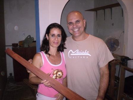 Visita ao Luthier Jorge Marinho - Salvador Foto0510
