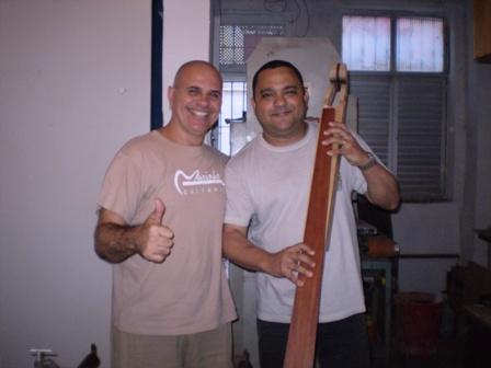 Visita ao Luthier Jorge Marinho - Salvador Foto0610