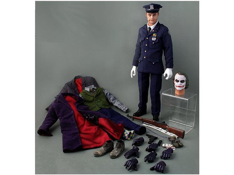 Batman: The Dark Knight - 1/6 Scale Movie Masterpiece Joker - DX 01 Policeman Version Hot10210