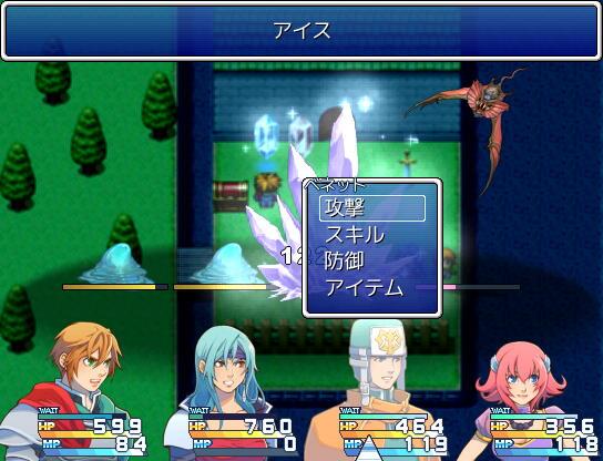 Active Time Battle System Scsh2110