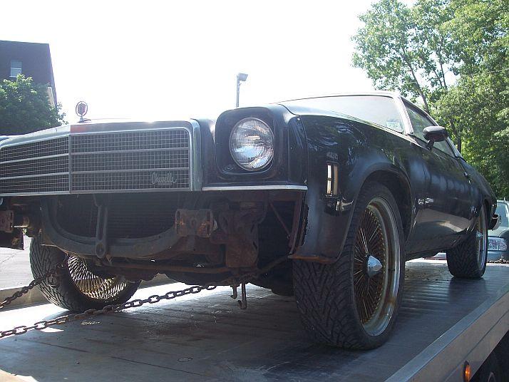 1974 malibu classic heading to Arizona Chev110