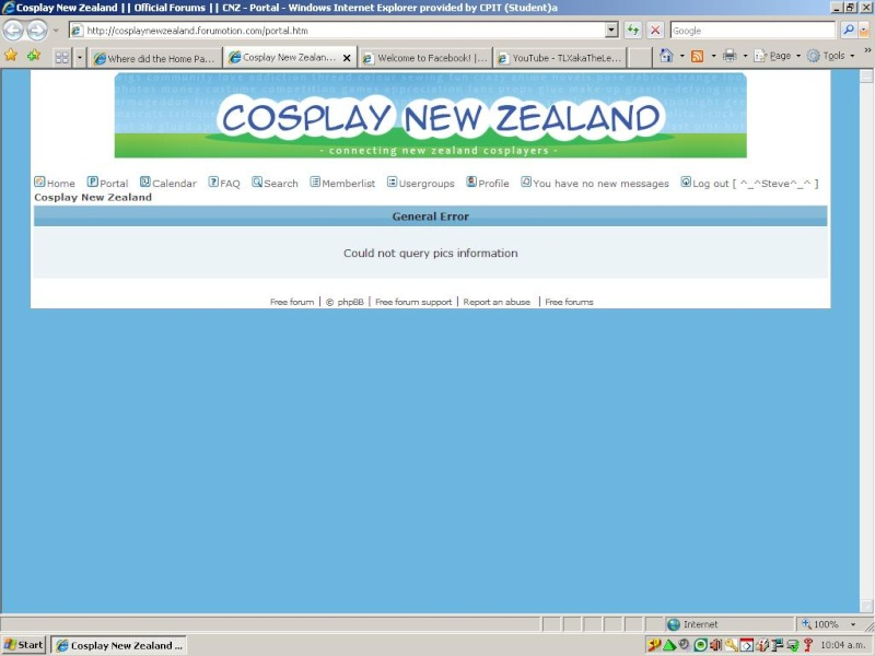 Where did the Home Page on the Forum go. Cnz_pr10