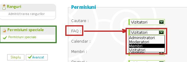 Adaugarea de intrebari si raspunsuri in lista FAQ Permis10