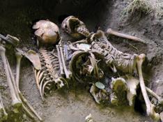 5 soldats allemands découverts à Bavent Cinq-s10