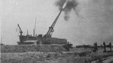 Le K5 Canon d'artillerie ferroviaire allemande K5e110