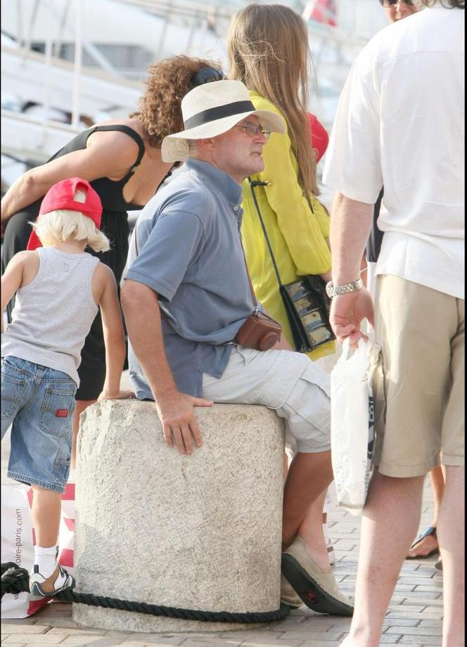 Phil on holiday in Saint Tropez 47429210