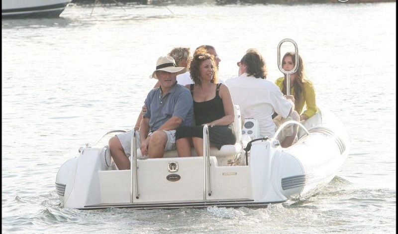 Phil on holiday in Saint Tropez 56600910