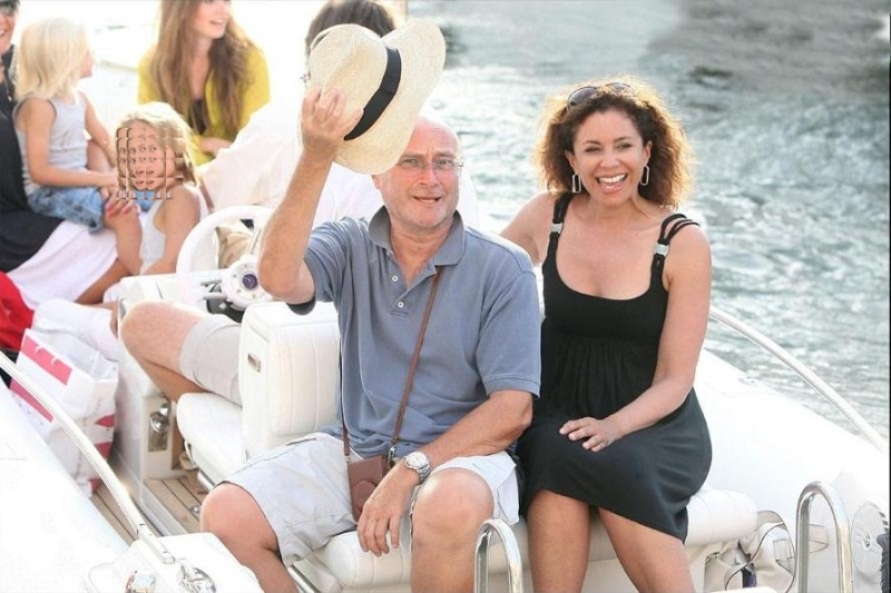 Phil on holiday in Saint Tropez 62799510