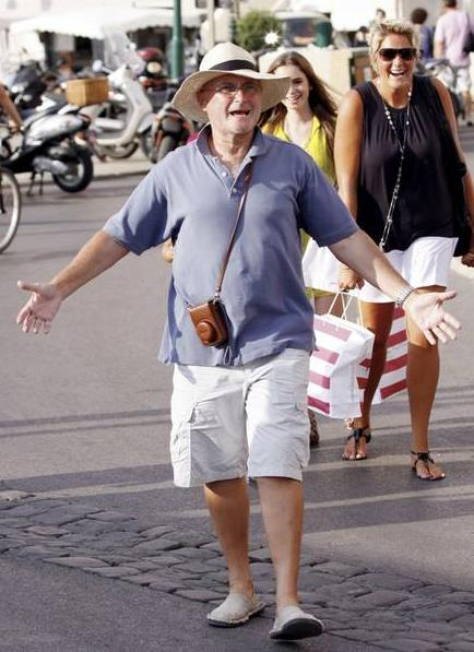 Phil on holiday in Saint Tropez 84378010