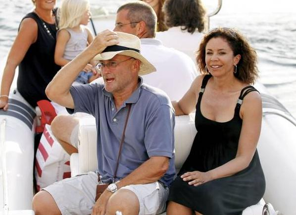 Phil on holiday in Saint Tropez 88659710
