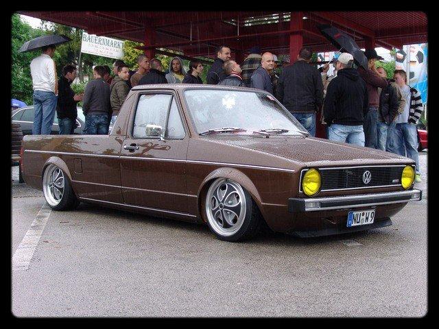 [ VW ] GOLF CADDY pick up / tolé 23029710