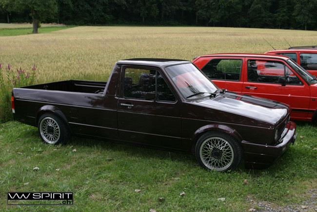 [ VW ] GOLF CADDY pick up / tolé Rara_v10
