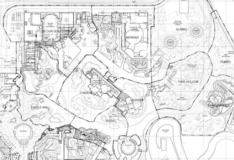 Leaked Fantasyland 2.0 blueprints Bluepr10