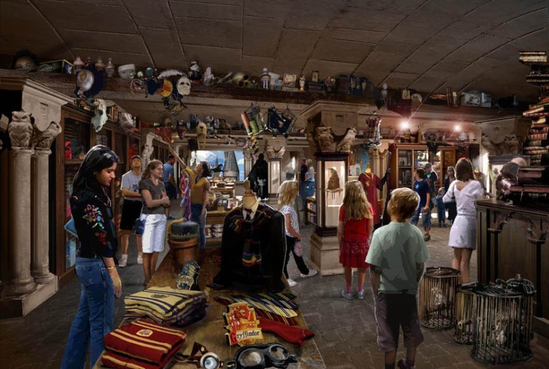 The Wizarding World of Harry Potter Filche10