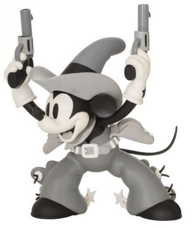 ''Two-Gun Mickey'' Mickey & Minnie Mouse Collectible Vinyl Figurines Guns0110