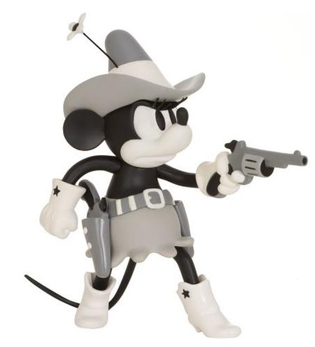 ''Two-Gun Mickey'' Mickey & Minnie Mouse Collectible Vinyl Figurines Guns0210