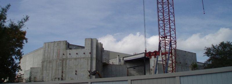 The wizarding world of hp construction pics Hogwar10
