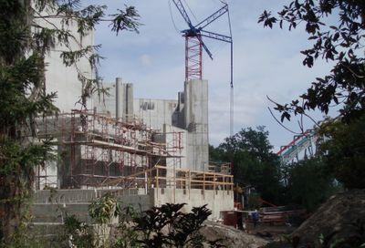 The wizarding world of hp construction pics Hogwar11